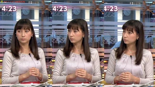 【画像】加藤シルビアのEカップ巨乳のふくらみヤベエ!TBS『NスタGIF動画あり』
