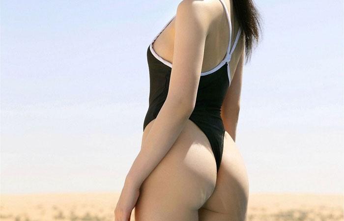 【スク水フェチ画像】着せたままハメたいwwwハミ出しがハンパないスク水娘の画像