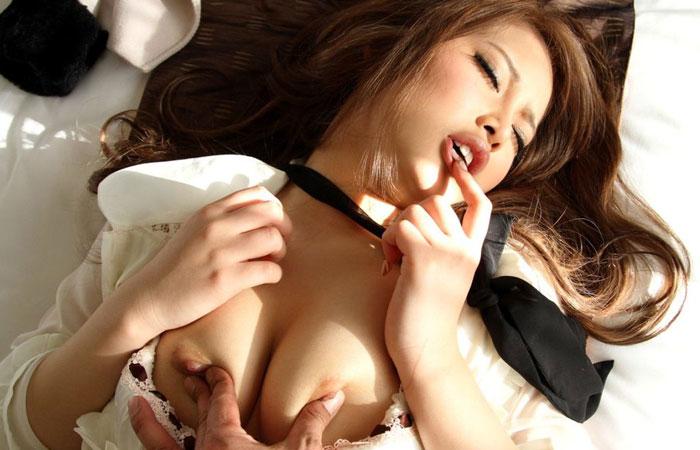 【セックス画像】セクロス大好きな女の子は行為中はこんなに気持ちいい顔してるwww