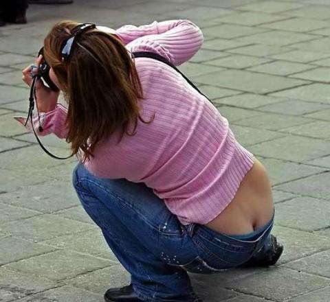 【エロ画像】ローライズパンツを最近見なくなった原因はコレしかないwww 01