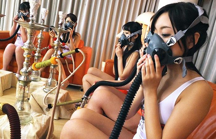 (三次えろムービー)モデル6人が一斉トランス☆催眠術で激イキ連発のカオスな大大乱交wwwwww