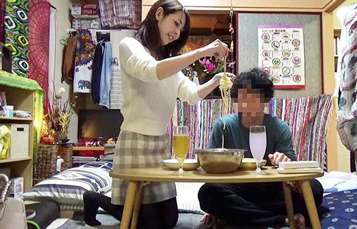 【ゲスの極み映像】入社当初から狙っていた34歳の美人妻を隠しカメラだけの部屋に連れ込みヤる!