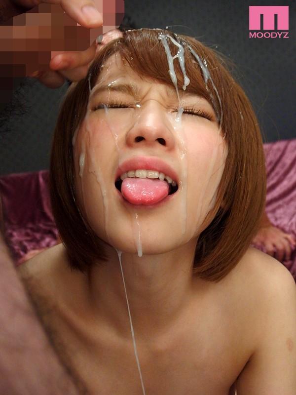 (総発射数70発☆☆)大洪水ばりの精子をぶっかけられ「顔が重い」ってwwwwww