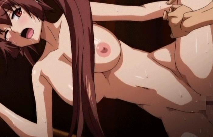 【二次エロ画像】どんな巨根でもすんなり入ってるw美少女の極太性交GIFwww