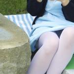 【パンチラエロ画像】閉じる事を知らんで座ってパンチラしちゃう一般女性たちwww