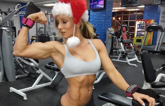 (海外えろ写真)男も見習うべきww腹筋美しい細マッチョ系モデルの体wwwwww