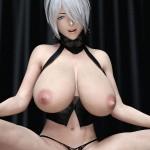 【二次エロ画像】本物みたい…リアルな見た目がたまらない最新鋭CGの女体と痴態www