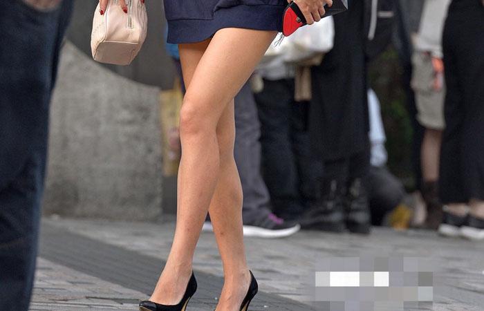 【美脚エロ画像】多過ぎて結構w街の大半は絶品美脚の持ち主ばかりwww
