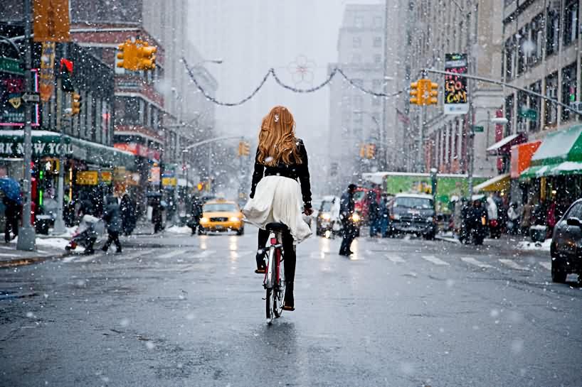 【自転車エロ画像】ただただ自転車に乗っている女の子が可愛いというだけの画像まとめ!