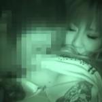 【エロ動画】夜行バスの消灯後に寝ている素人ギャルに襲いかかって赤外線盗撮!w【素人】