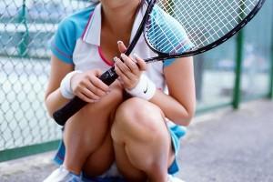 【コスプレエロ画像】テニスウェアの清純さにエロスを感じずにはいられないwww